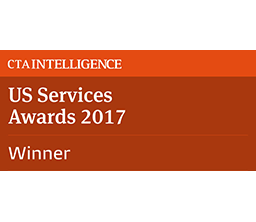 Winner 2017 CTA US Services Awards - Best FCM - Technology