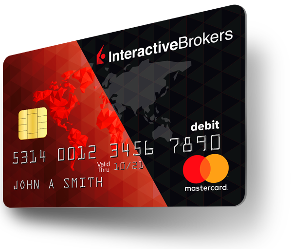 Interactive Brokers Debit Mastercard