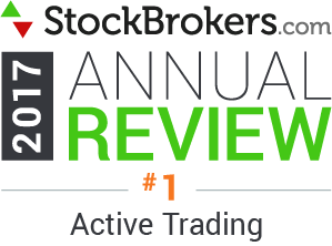 2017 Stockbrokers.com Awards - Best for Active Trading