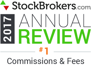 2017 Stockbrokers.com Awards - Lowest Commissions and Fees