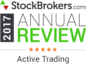 2017 Stockbrokers.com Awards - 5 Stars - Active Trading