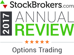 2017 Stockbrokers.com Awards - 5 stars - Options Trading