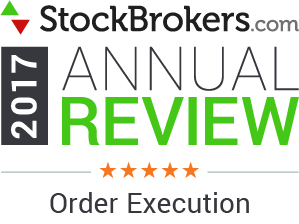 2017 Stockbrokers.com Awards - 5 Stars - Order Execution