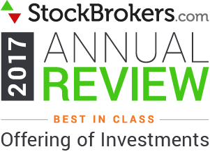 2017 Stockbrokers.com Awards - Best in Class - Offering of Investments